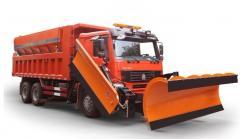 Special communal snow-ploughs automobiles