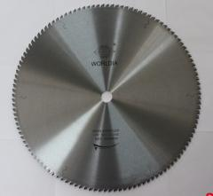 Cellular aluminum alloy tooth saw blade