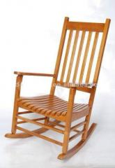 Armchair-rocking chair