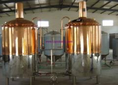 500L beer-brewing equipment for hotels and