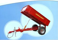 Tractor tipper semitrailers