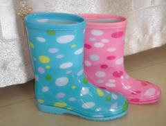 Children rubber boots