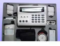 8无线/7有线全中文液晶显示报警主机(联网型)