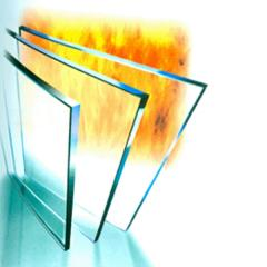 Refractory glass
