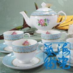 Tea sets, coffee