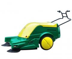 Machines sweeping of hand- and steering control