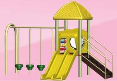 Children's slides for playgrounds