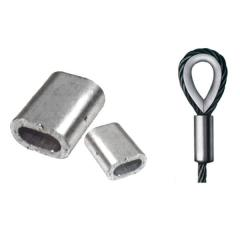 Clips for wire rope