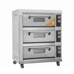 三层六盘电热烤炉