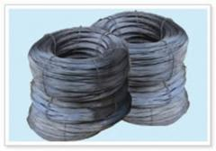 Wire made of iron or steel