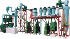 Equipment for flour production