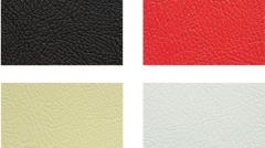 Embossing artificial leather