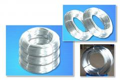 Zinc-coated wire