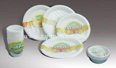 12oz Bagasse Disposable Breakfast Bowl 100