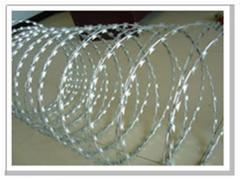 Cutting barbed wire