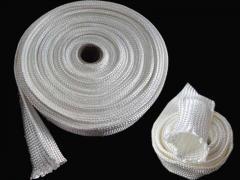 High silica fiber high temperature protecting