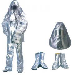 Protective clothing, fireproof and flameproof
