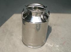 Stainless Steel Milk Bucket 40 liters