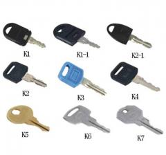 Keys for locks