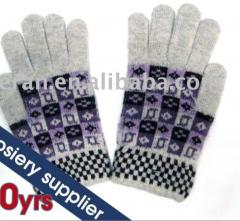 Gloves, tricot