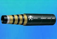 Steel Wire Spiral Hydraulic Hose DIN EN 856 4SH
