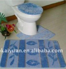 Toilet carpets
