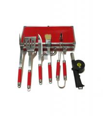 Grilling Set with spatula, tongs and meat fork
