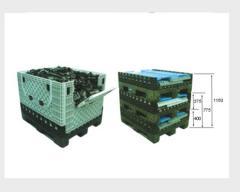 ZY-1210C 大型折叠式卡板箱