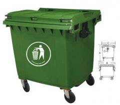 Containers for rubbish