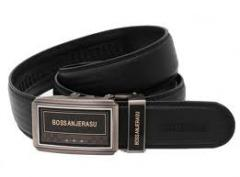 Automatic Buckle Men's Genuine Leather Belt