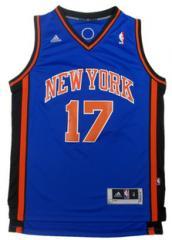 NBA Jersey Knicks  Jeremy Lin blue#17