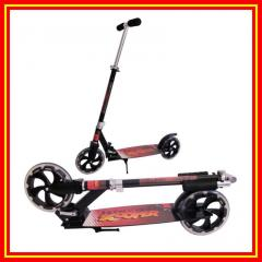 Aluminum 200mm PU Wheels Adults Kick Scooter