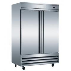 Reach-in & Solid Two Doors Refrigerator
