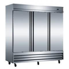 Reach-in & Solid Three Doors Freezer