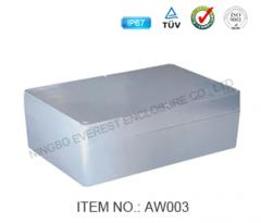 Containers, boxes made of aluminum