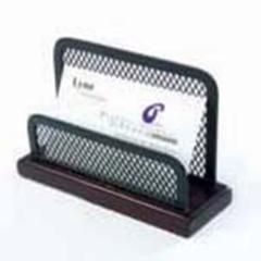 Desktop business card holders