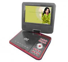 移动便携式DVD SP-768A红色 电镀