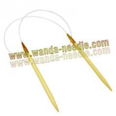 铝头竹环形针