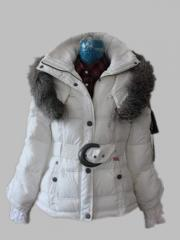 Female down jackets