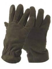 Gloves for fishermen and hunters