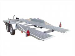 Trailers for machinery transportation