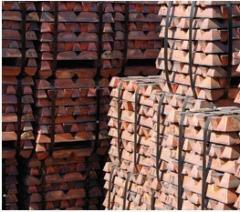 Sell copper ingot