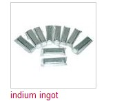 Indium of high purity