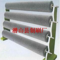 不锈钢酸洗线碳化硅毛刷辊