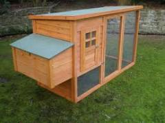 Heat-risistant Best selling wooden chicken house