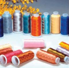 Threads made of polyester