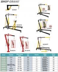 Cranes, portable, hydraulic