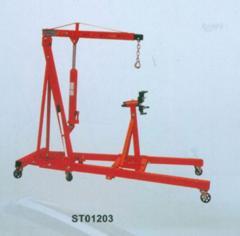Hydraulic hoisting cranes