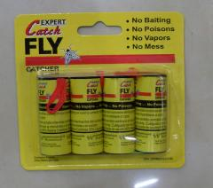 Adhesive tape from the flies