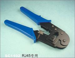 Tongs for molding and cutting cables
